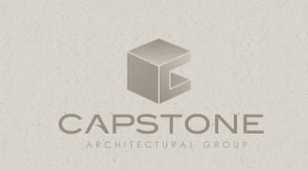 Capstone custom logo design